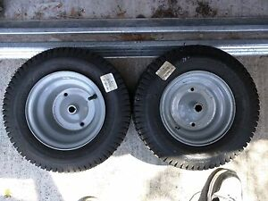 Lawn tractor tires - 16x6.5 brand new