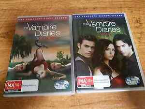 The vampire diaries TV series dvds Forest Lake Brisbane South West Preview