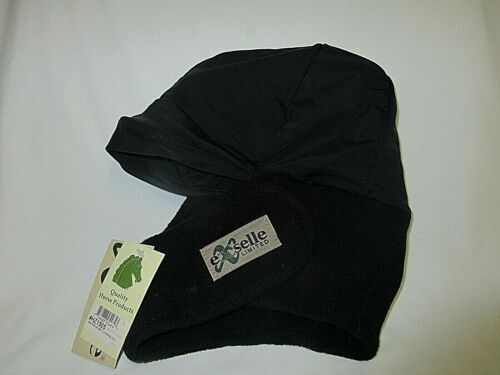 NEW Equestrian Exselle Limited Helmet Cover Quality Horse Products Black