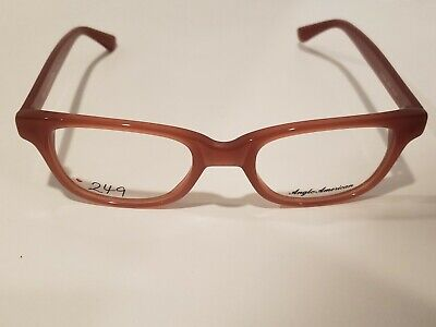 Anglo American Optical Mod Taloga eyeglasses/Eyewear Made in England (American Made Eyewear)