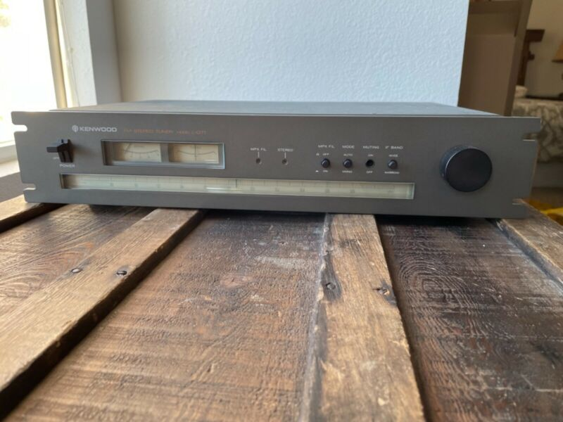 Kenwood L-07T Stereo FM Only Tuner 7-gang