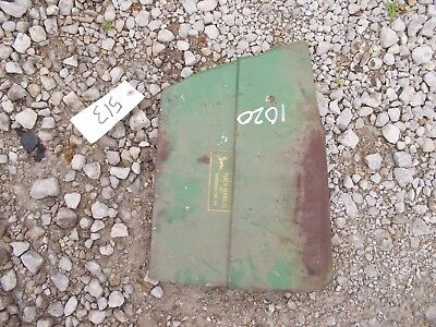 John Deere 1020 Tractor Jd Hood Cover Panel