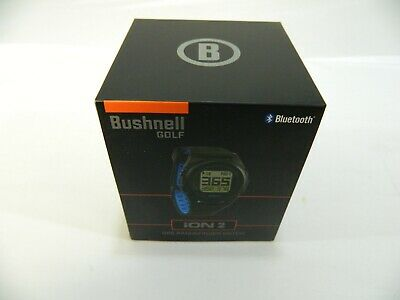 New Bushnell Golf Neo iON 2 - Black / Blue - GPS Rangefinder Watch Golf  (Bushnell Neo Gps Watch)
