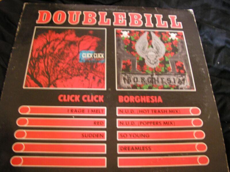 Click Click/Borghesia Double Bill Vinyl [Rare 1988]