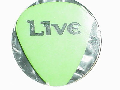 LIVE  Logo & Patrick Was Here RaRe Concert 1994 Tour GUITAR PICK Throwing Copper