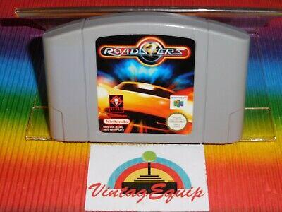 N64 ROADSTERS NINTENDO 64 PAL GAME JUST CARTRIDGE NUS-NRRP-UKV