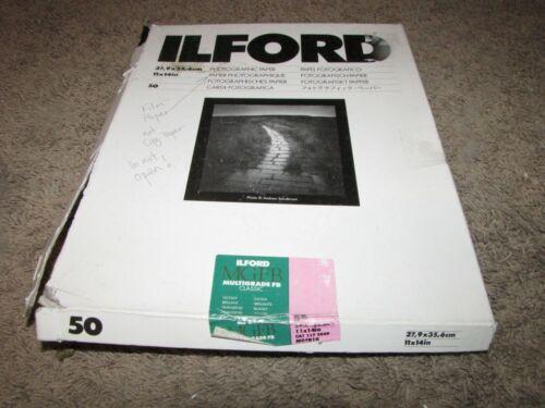 "ILFORD 11""x14"" Photographic Paper MGFB Multigrade FB Classic Glossy 1172049"
