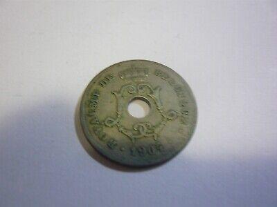 10 centimes belgique pièce - belgie munt 1904