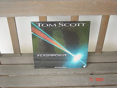 Tom Scott - Flashpoint -  Vinyl - grp von 1988
