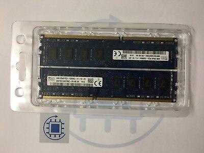 8GB (2x 4GB ) PC3 12800U 1600MHz Markenspeicher Desktop DDR3 Arbeitsspeicher RAM ()