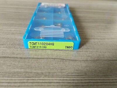 New Kyocera Tcmt110204hq Tn60 Tcmt2151hq Carbide Inserts 10pcsbox