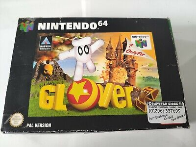 Glover - Boxed - Nintendo 64 - N64 - with Game Guide - Free P&P
