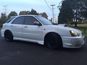 2004 Subaru Impreza WRX turbo hatchback with 1 year rego Ermington Parramatta Area Preview