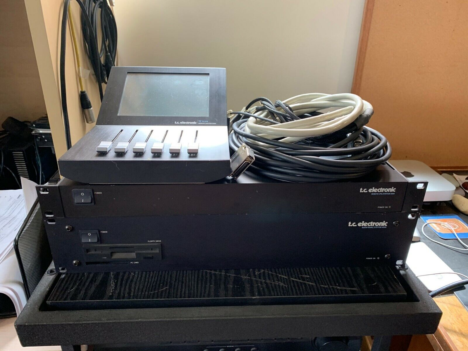 TC ELECTRONIC SYSTEM 6000-Controller | Remote | Processor & Cables | Digital I/O. Buy it now for 4000.00