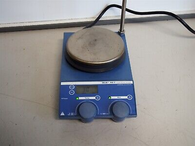 Ika Ret Cv-s1 Control Visc Safety Control Magnetic Hot Plate