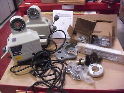 Two Align Power Table Feed Units Alce500p Sold As Is