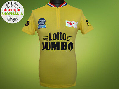 NWT LOTTO JUMBO HOLLAND TEAM (S M) JOOP ZOETEMELK Ltd Edition CYCLING SHIRT a40839811