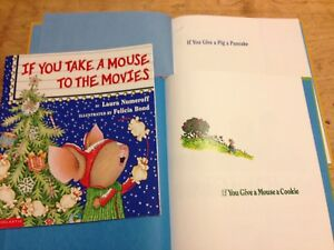 If you give a mouse.... 3 books