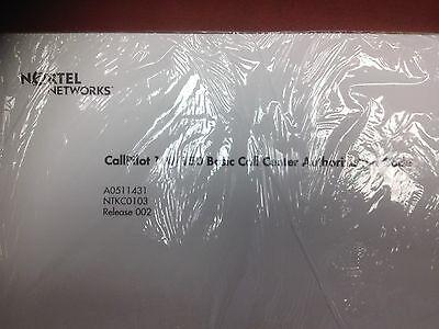 Nortel Norstar Call Pilot 100150 Basic Call Center Auth Keycode Code Ntkc0103