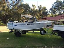 Runabout 14ft tinny swap for dirt bike Two Rocks Wanneroo Area Preview