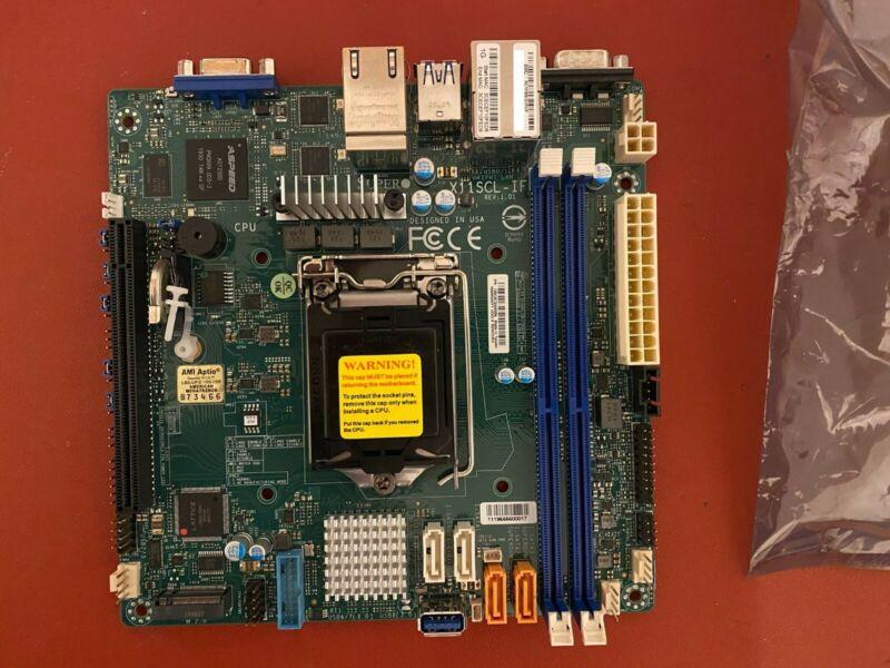 SUPERMICRO MBD-X11SCL-IF-O Mini ITX Server Motherboard LGA 1151 Intel C242