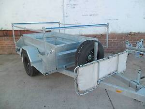 Galvanised Box 7 x 4  trailer ideal for Camper Trailer 4x4 rims Wangara Wanneroo Area Preview
