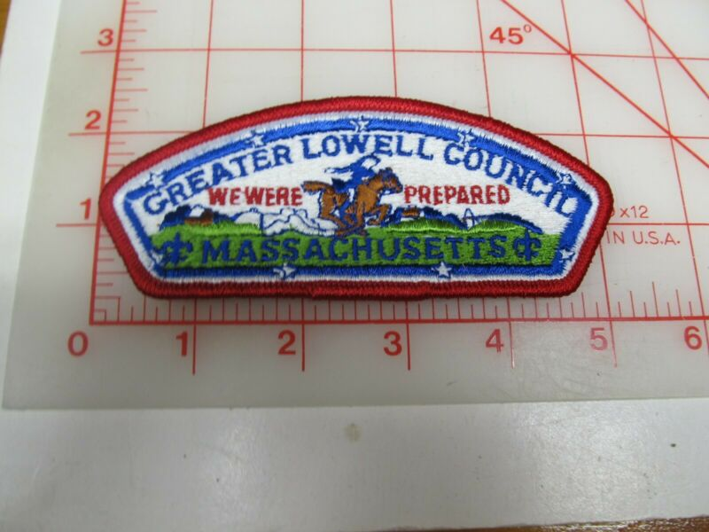 Greater Lowell Council CSP collectible PB patch (o34)