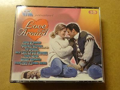 2-DISC CD BOX / LOVE IS ALL AROUND - CHRIS DE BURGH, THE TROGGS,.. (VTM)