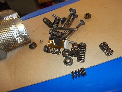 International Cub 154 Lb Tractor Ih Ihc Engine Motor Valve Springs Keepers Etc.