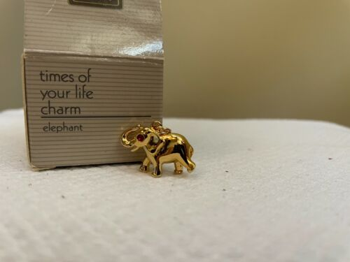 Avon Vintage 1991 Times of Your Life Charm - Elephant