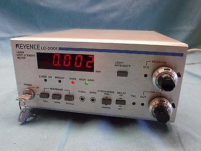 Keyence Laser Displacement Meter Lc-2001