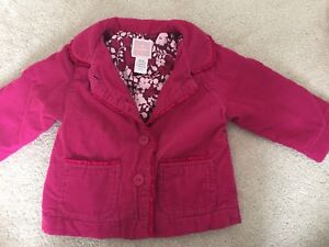 EEUC Old Navy baby girl fall blazer jacket - size 6-12 months
