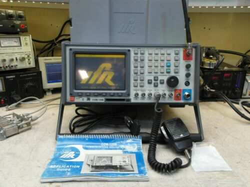 Aeroflex IFR COM-120B Communications Service Monitor  Spectrum Analyzer LOADED