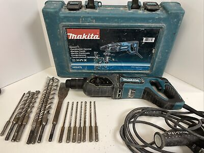Makita Hr2475 1 D-handle 3-mode Sds-plus Rotary Hammer Drill Case  14 Bits
