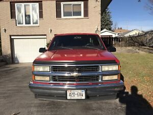 97 Chevy ext cab (2wd). Southern truck