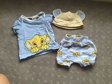 Peter Alexander lion king pjs set with hat sleep Redwood Park Tea Tree Gully Area Preview