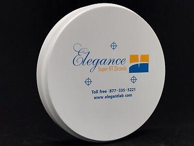 Dental Zirconia Blocksdiscs 98 Mm Sht Plus In White Elegance Premium Tm