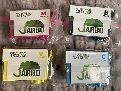 Jarbo 181XL Printer Cartridges - 18pk
