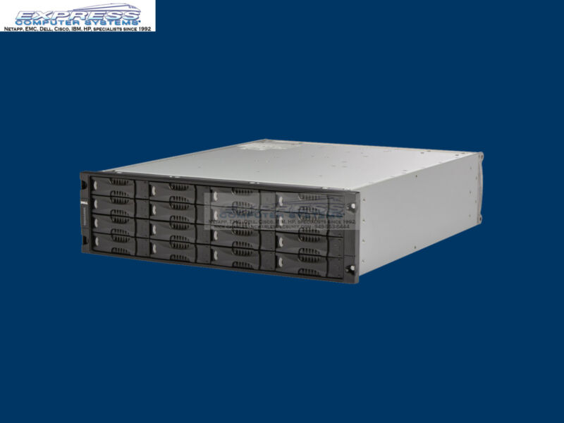 Dell Equallogic Ps5000xv 1gbe 16x 600gb 15k Sas Dual Type 4 Ctrl Ps5000 Iscsi