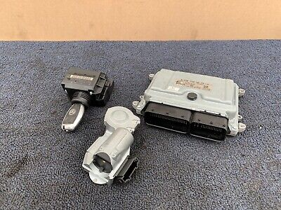 07-2009 MERCEDES W211 E63 ENGINE COMPUTER MODULE DME ECU IGNITION SWITCH SET OEM