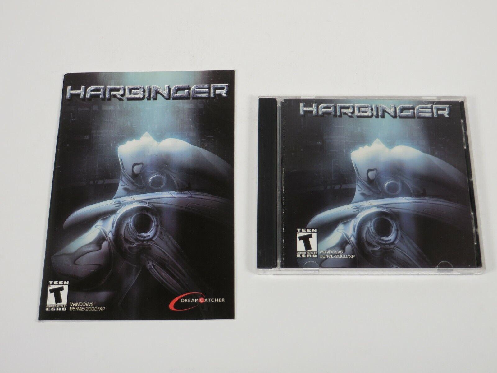 Computer Games - Harbinger (PC, 2003) PC Vintage Computer Game DreamCatcher