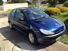Peugeot 206 with RWC Sunshine West Brimbank Area Preview