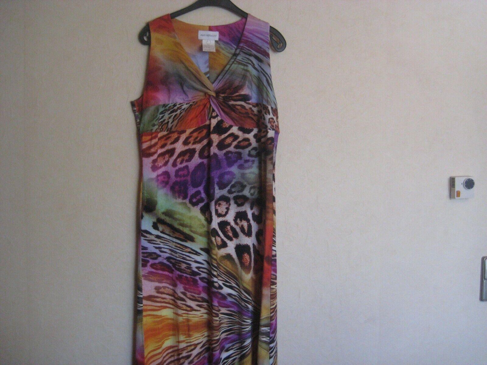 Amy Vermont schickes Damen Kleid Gr.44 Gr.46 Maxikleid