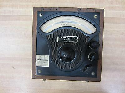 General Electric 3512527 Antique Amp Meter Vintage Industrial 39036
