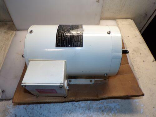NEW MARATHON 1 HP WASHDOWN AC ELECTRIC MOTOR 56C 1725 RPM 208-230/460 VAC TENV