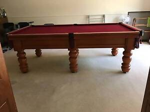 Excellent Condition Billiard Table with accessories Vermont South Whitehorse Area Preview