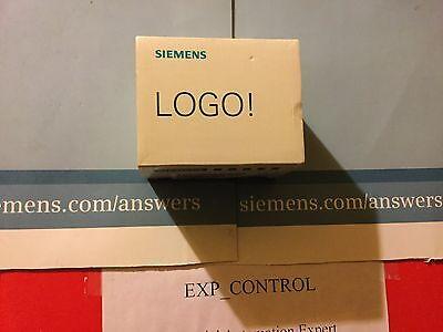 6ED1052-1FB00-0BA0 Siemens LOGO 230RC 6ED10521FB000BA0 AC120 input/8A output NIB