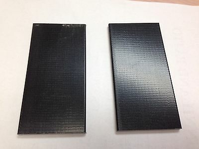 "2- ROCKER FIBERGLASS SPRING PLATES 2.5"" X 5"" REPAIR PART FOR PATIO CHAIR"