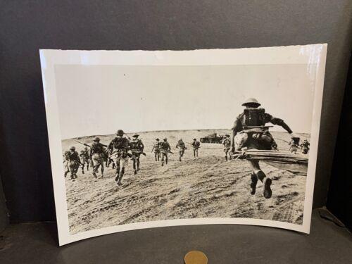 WW2 Photo, British 8th Army, North Africa, Nazi Tank, Infantry, 11/24/42  #48