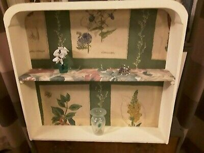 Vintage Wall Shelf Repurposed Cabinet Drawer Ready to Hang
